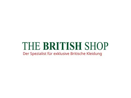 Logo The British Shop Referenz