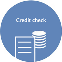 Credit check - we protect you against defaults on payments Trebbau